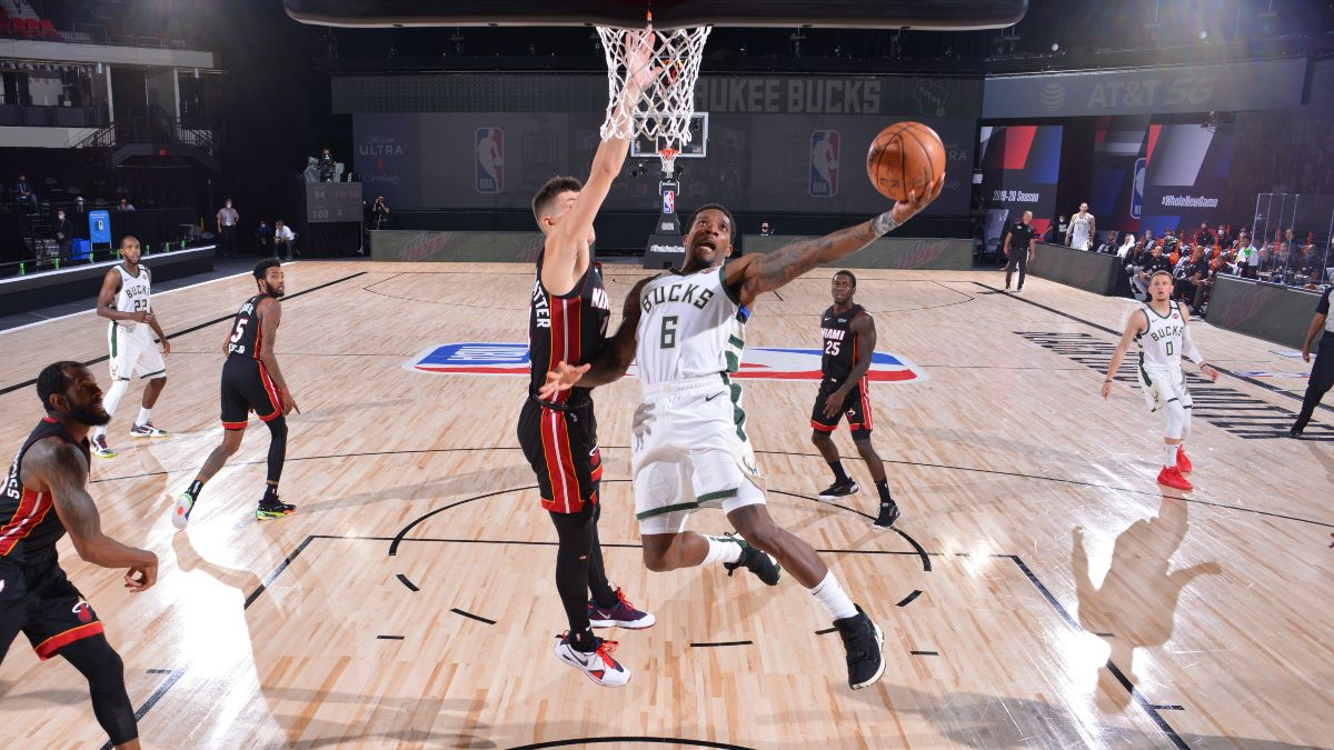 Wednesday NBA Playoffs Betting Odds, Picks & Predictions: Heat vs. Bucks Game 2 (Sept. 2) article feature image
