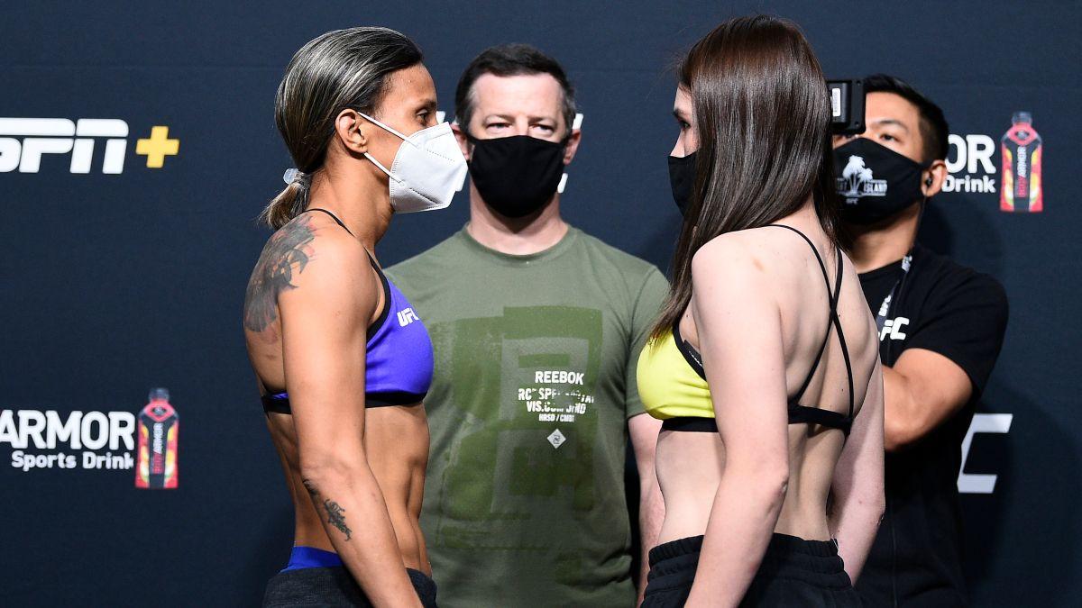 Saturday UFC Betting Picks & Predictions: Our Best Bets for Amanda Lemos vs. Mizuki Inoue (August 22) article feature image