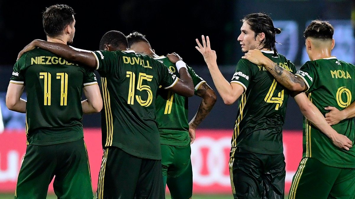 MLS Odds & Picks: It's A Coin Flip Between Timbers, Union on Wednesday article feature image