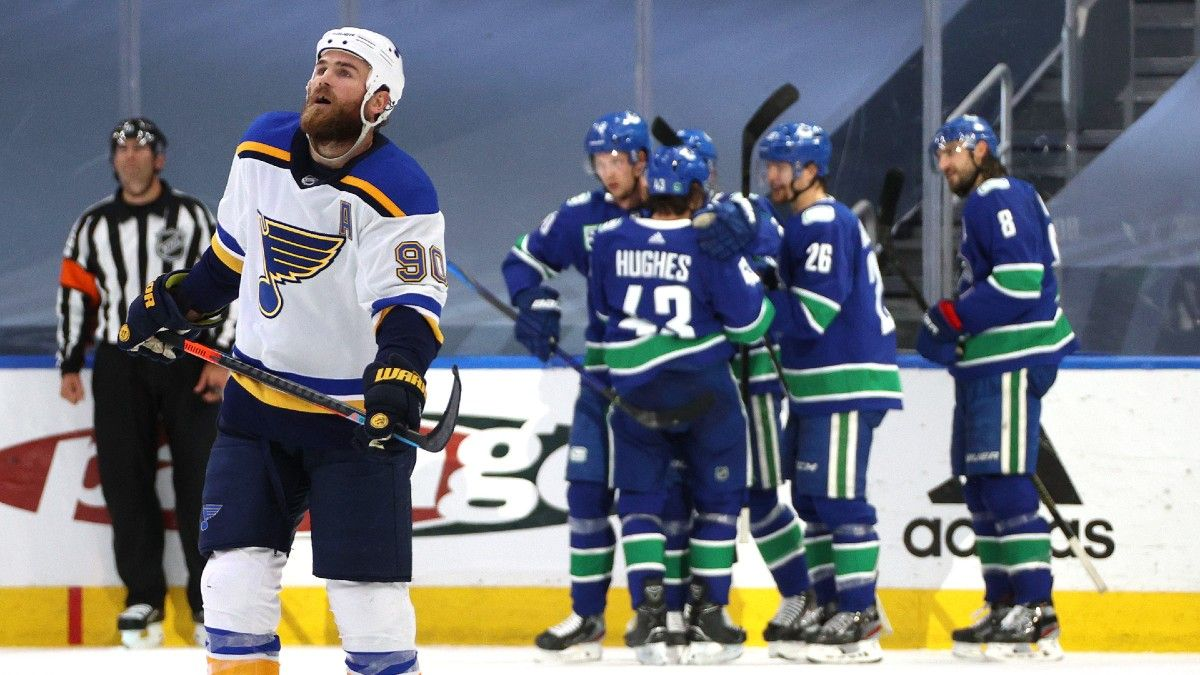 St. Louis Blues vs. Vancouver Canucks Game 6 Odds, Picks & Predictions (Friday, August 21) article feature image