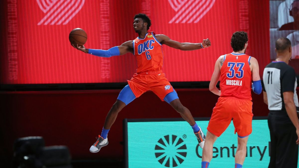 NBA Sharp Betting Pick (Saturday, Aug. 1): Utah Jazz vs. Oklahoma City Thunder article feature image