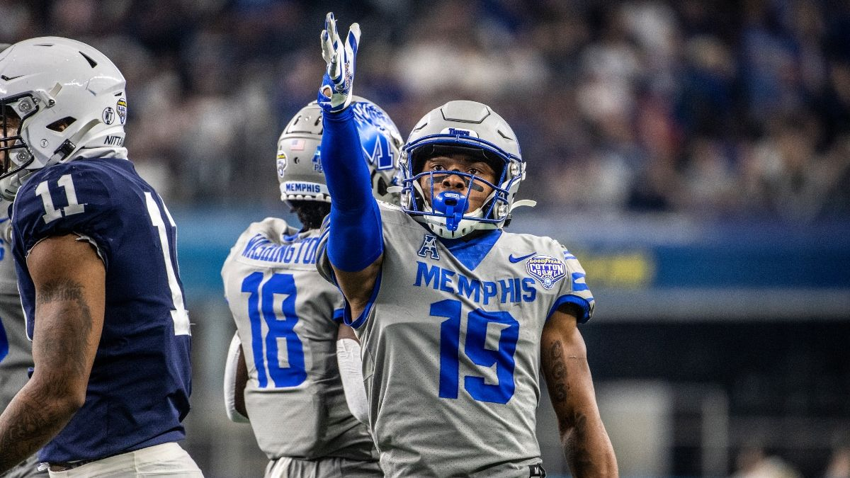 Week 1 College Football Promos: Win $100 if Memphis Scores At Least 1 Point article feature image