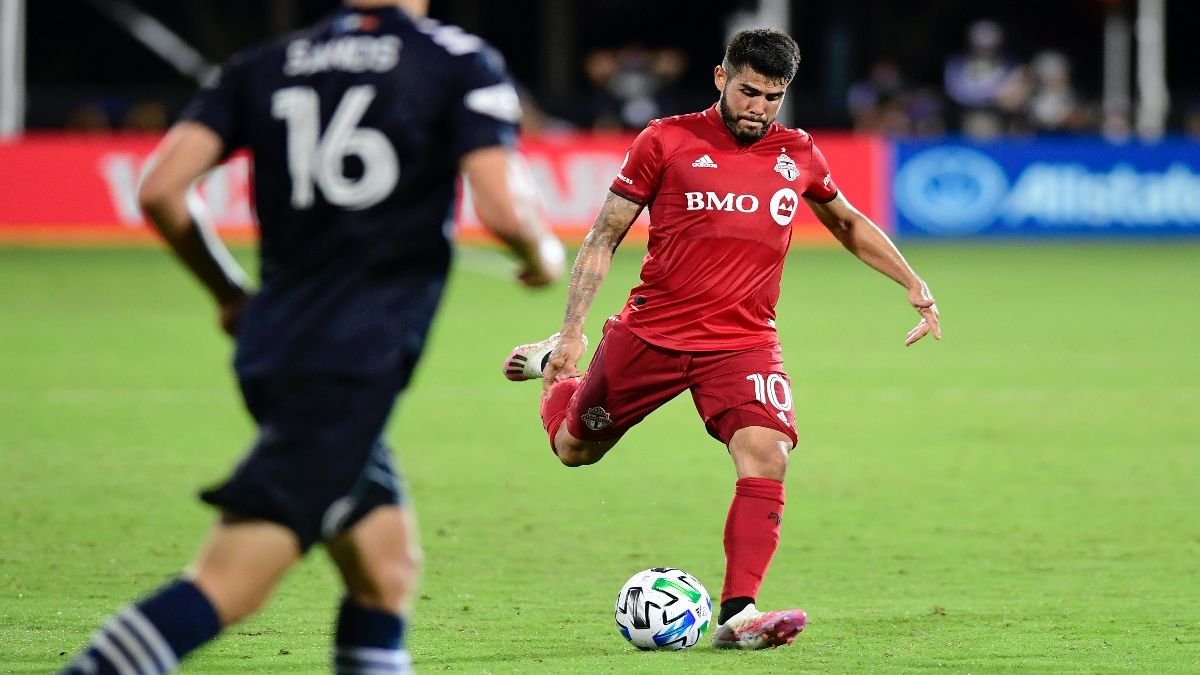 Tuesday MLS Betting Odds & Picks: Toronto FC vs. Vancouver (August 18) article feature image