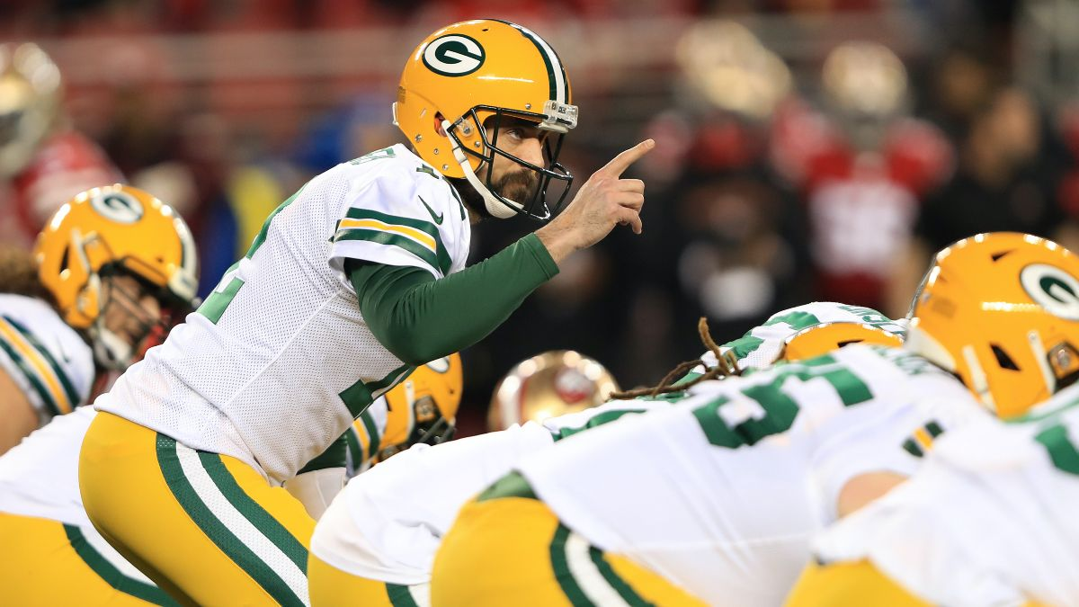 Packers vs. Saints PointsBet Promo: Bet $20, Win $125 if Aaron Rodgers Throws for at Least 1 Yard! article feature image