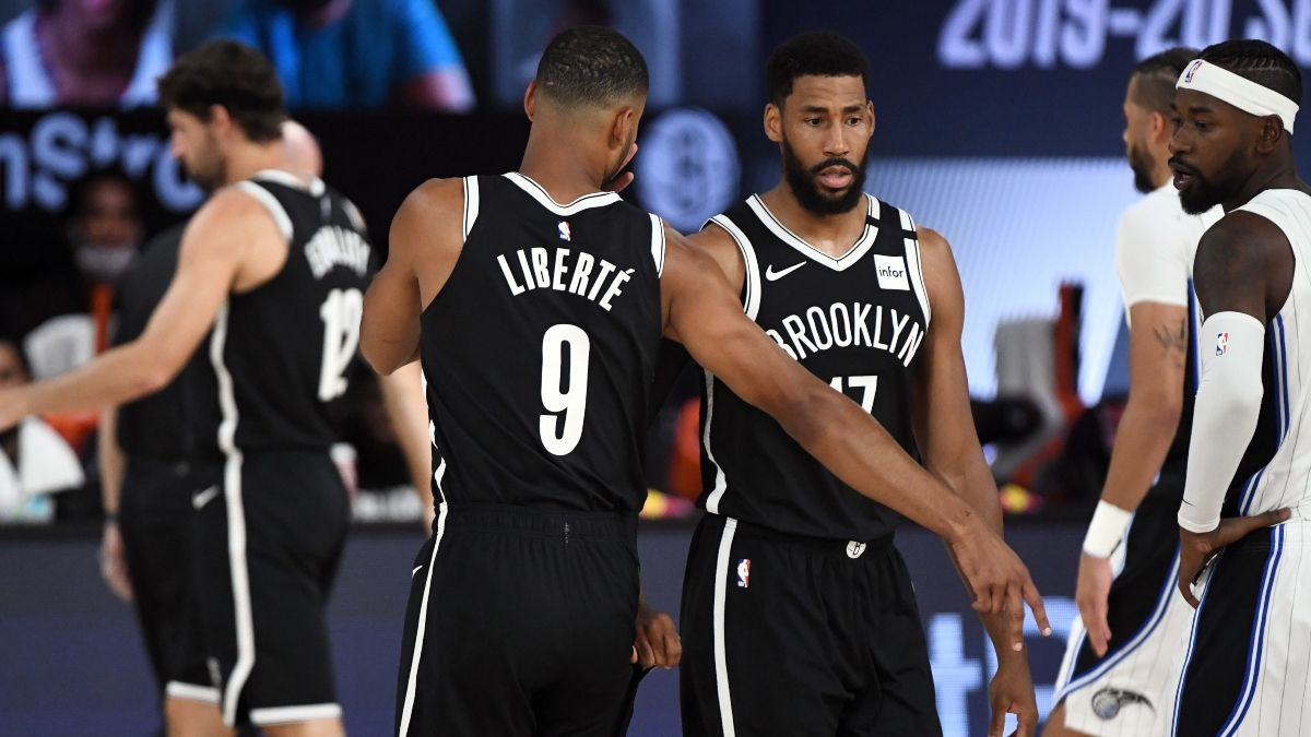 NBA Sharp Betting Pick (Sunday, Aug. 2): Washington Wizards vs. Brooklyn Nets article feature image