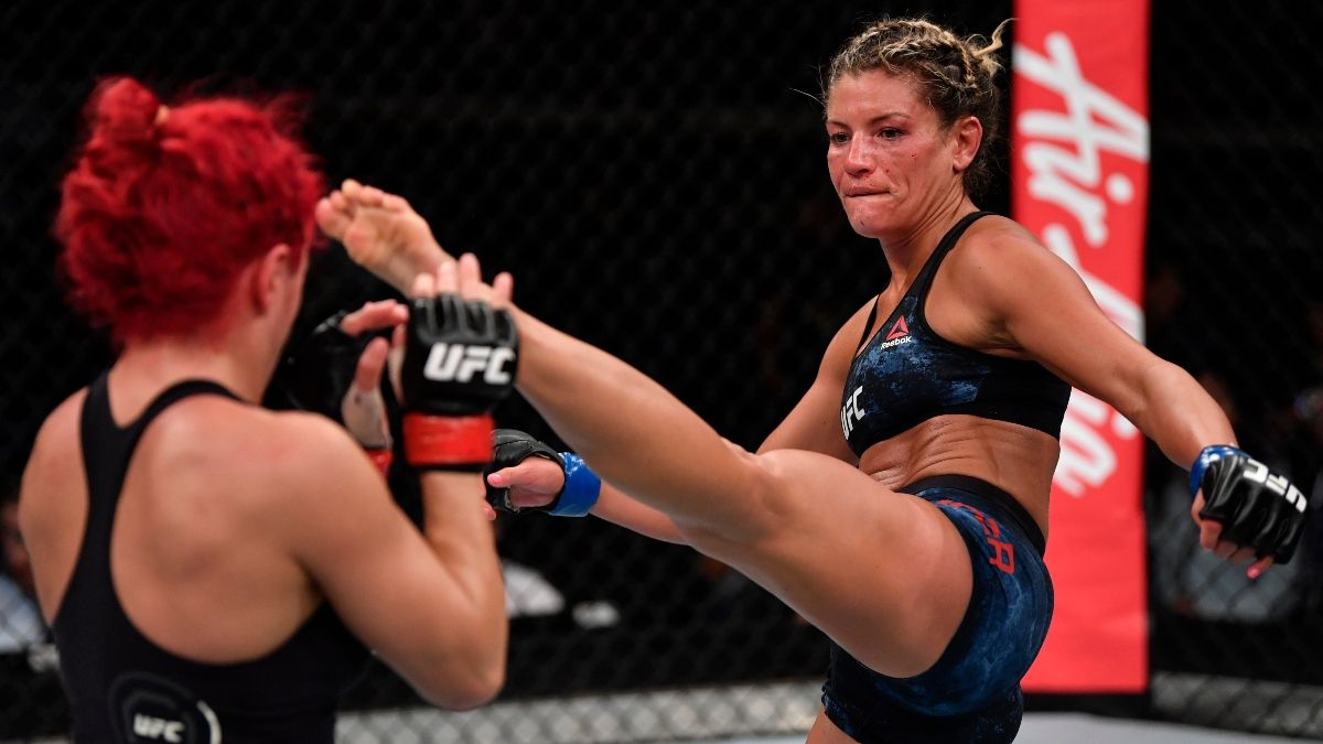 UFC 252 Picks & Predictions: Our Best Bets for Ashley Yoder vs. Livia Renata Souza and John Dodson vs. Merab Dvalishvili article feature image