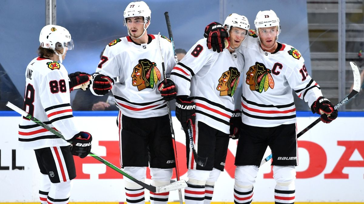 Blackhawks vs. Oilers Odds & Pick: Chicago Could Provide Value Again In Game 2 article feature image