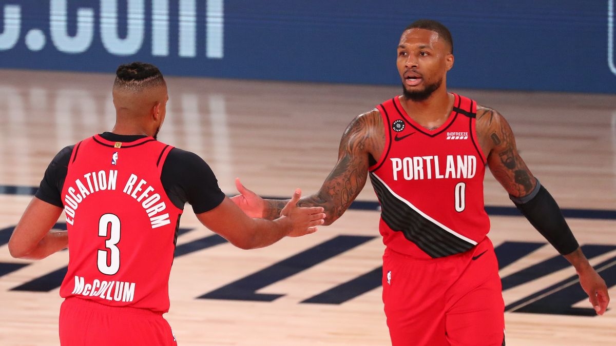 Blazers vs. Lakers Odds & Pick: How To Bet Portland's Game 3 Total article feature image