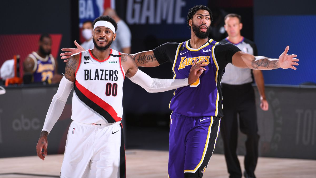 NBA Betting Picks: Our Favorite Bets For Magic vs. Bucks, Trail Blazers vs. Lakers (Saturday, Aug. 29) article feature image