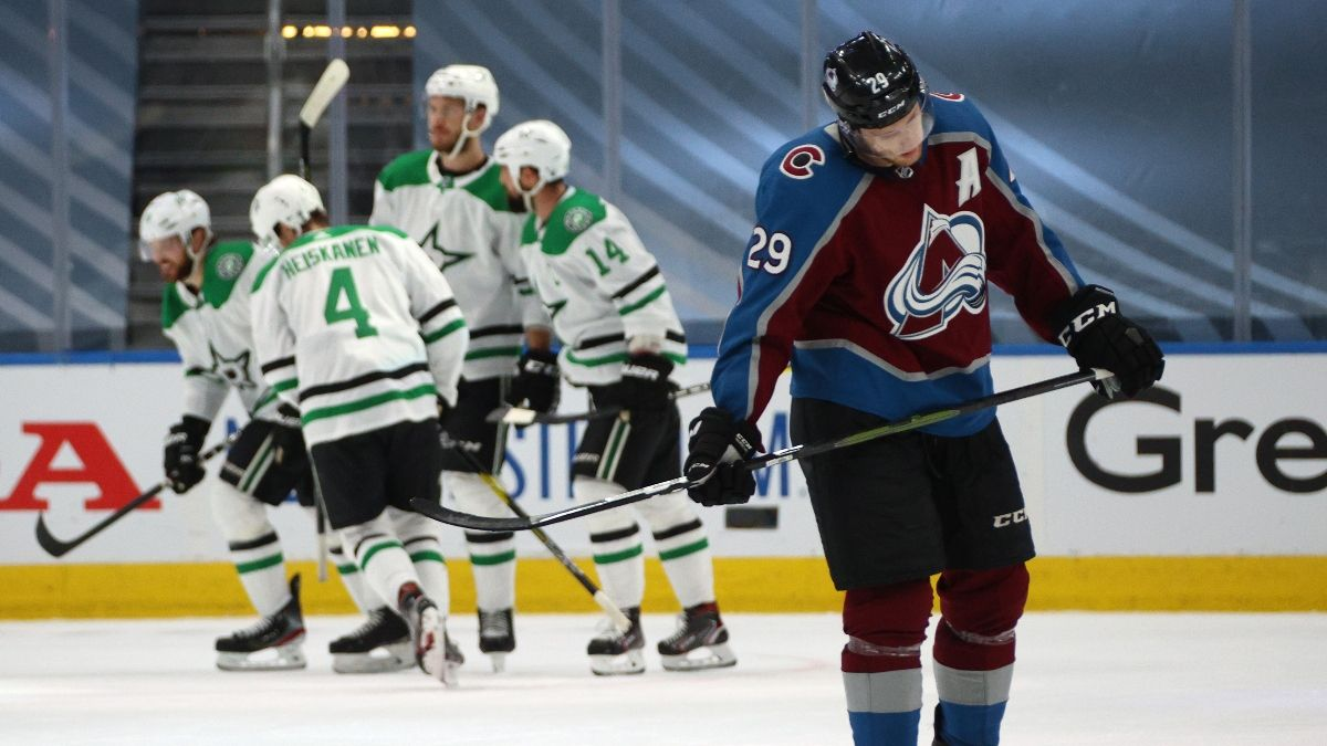 Colorado Avalanche vs. Dallas Stars Game 3 Betting Odds, Picks & Predictions (Wednesday, August 26) article feature image