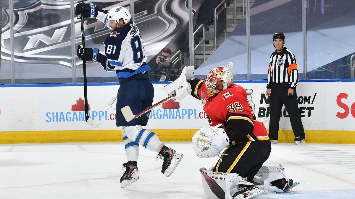 NHL Odds and Picks (Tuesday, Aug. 4): Jets vs. Flames Game 3 article feature image