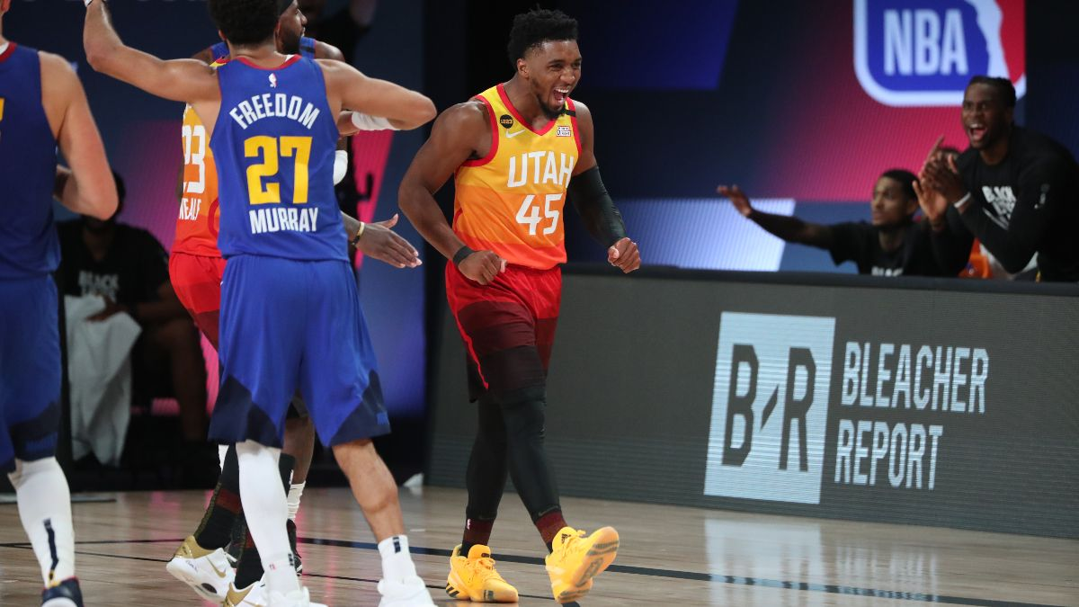 Updated NBA Playoffs Series Odds & Round 1 Schedule: Jazz Heavily Favored to Close Out Series vs. Nuggets article feature image