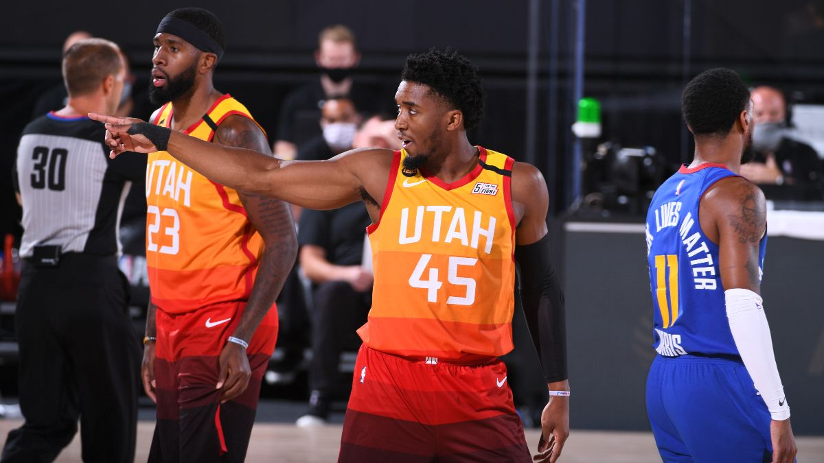 NBA Playoffs Betting Picks: Our Best Bets For Utah Jazz vs. Denver Nuggets (Tuesday, Aug. 25) article feature image