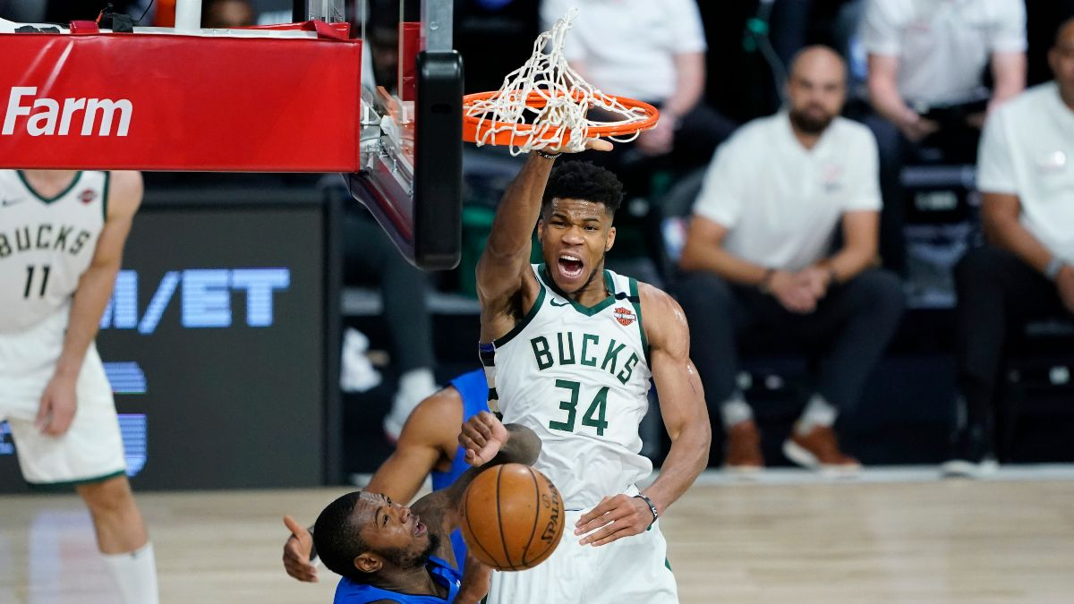Magic vs. Bucks Game 5 Updated Betting Odds, Picks & Predictions (Saturday, Aug. 29) article feature image