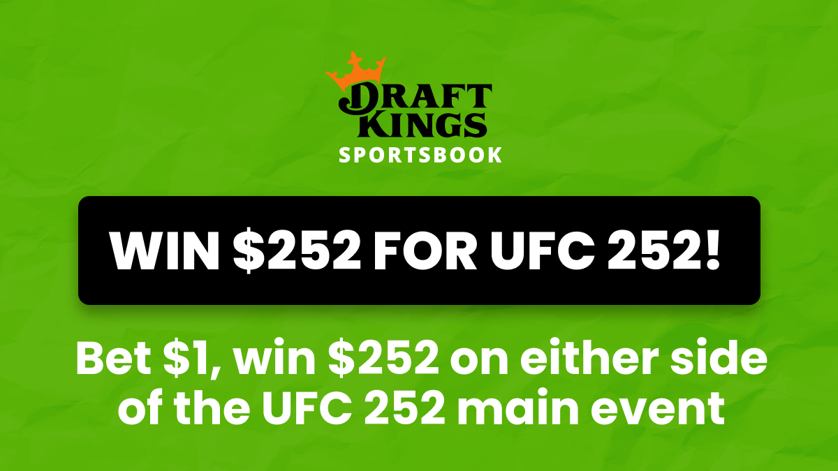 UFC 252 Odds, Picks & Promotions: Get 252-1 Odds on the Main Event! article feature image