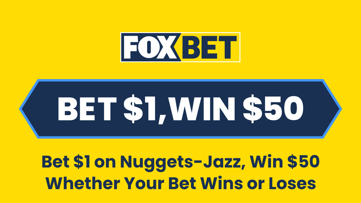 Nuggets vs. Jazz Promos in Colorado: Bet $1, Win $50 on the Nuggets! article feature image