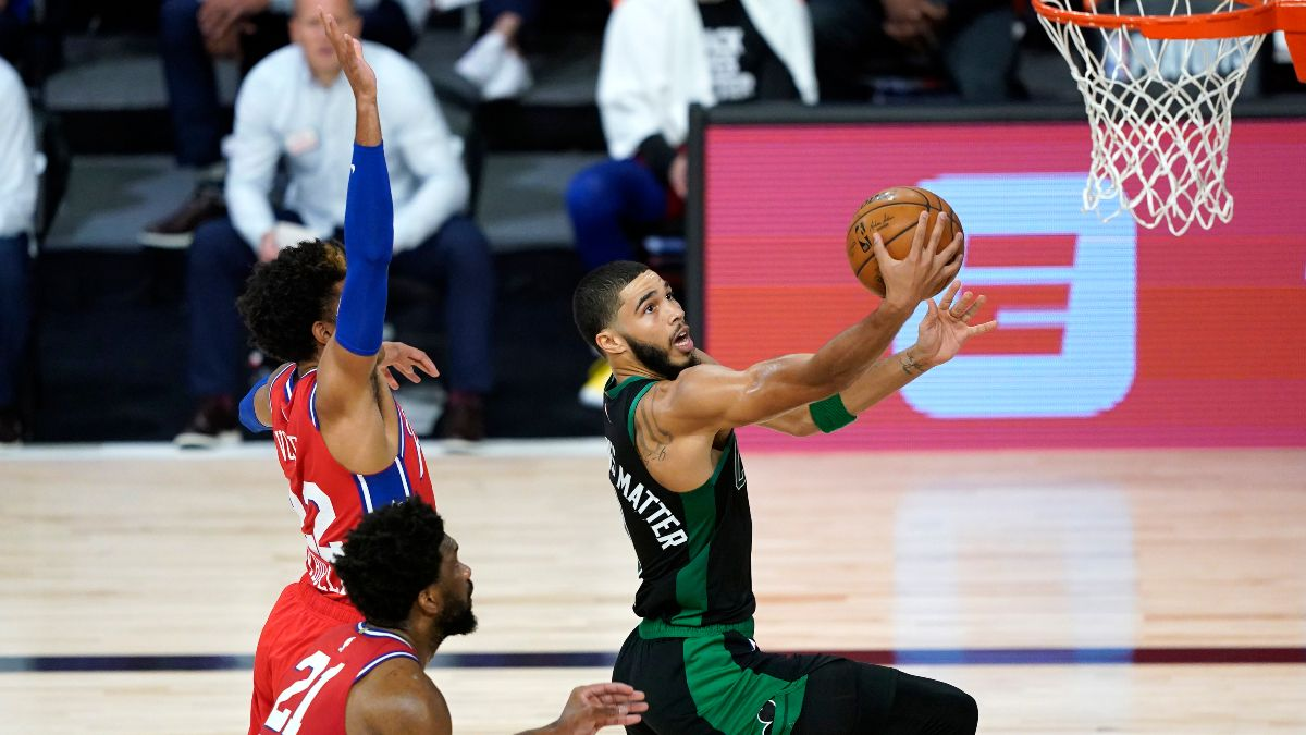 76ers vs. Celtics Odds & Pick: Back Jayson Tatum & Co. In Game 2 article feature image