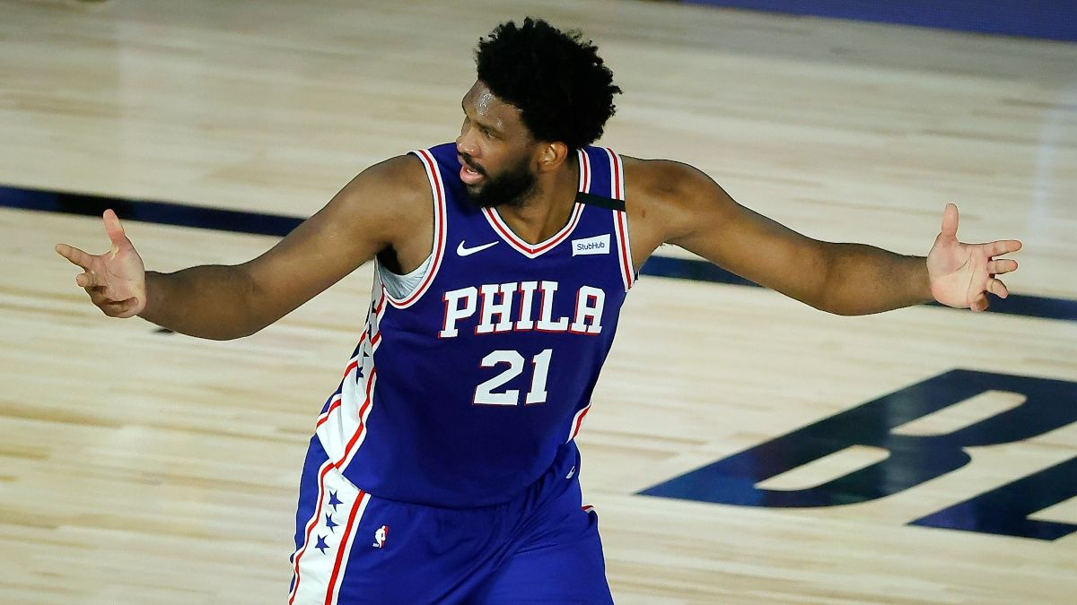 NBA Player Props Odds, Picks: How to Bet Joel Embiid's Rebounds Sunday vs. Blazers article feature image