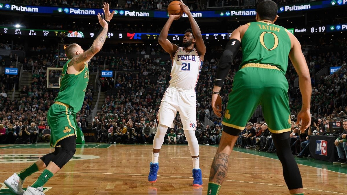 Moore: 5 Things to Know Before Betting the Celtics vs. Sixers Round 1 Playoff Series article feature image