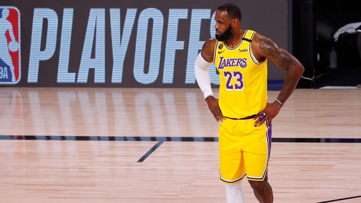 Moore: Should You Be Worried About the Lakers Entering Game 2 vs. Blazers? article feature image
