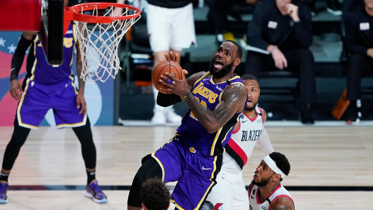 NBA Playoffs Betting Odds, Picks & Predictions: Trail Blazers vs. Lakers Game 4 (Monday, August 24) article feature image