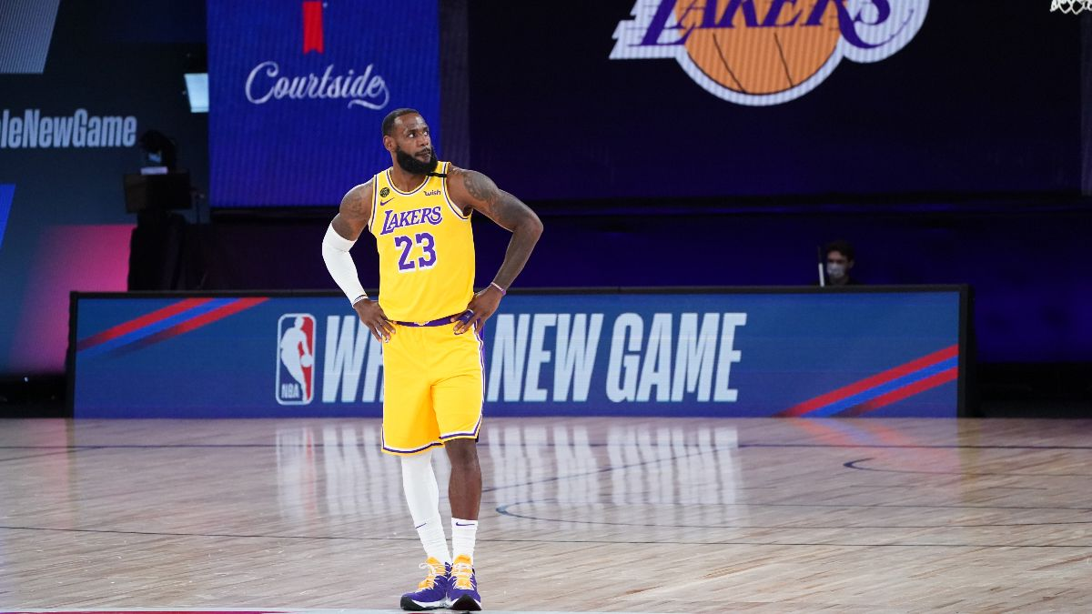 NBA Player Props Odds, Picks: Our Bets for LeBron James, PJ Tucker and More (Aug. 18) article feature image