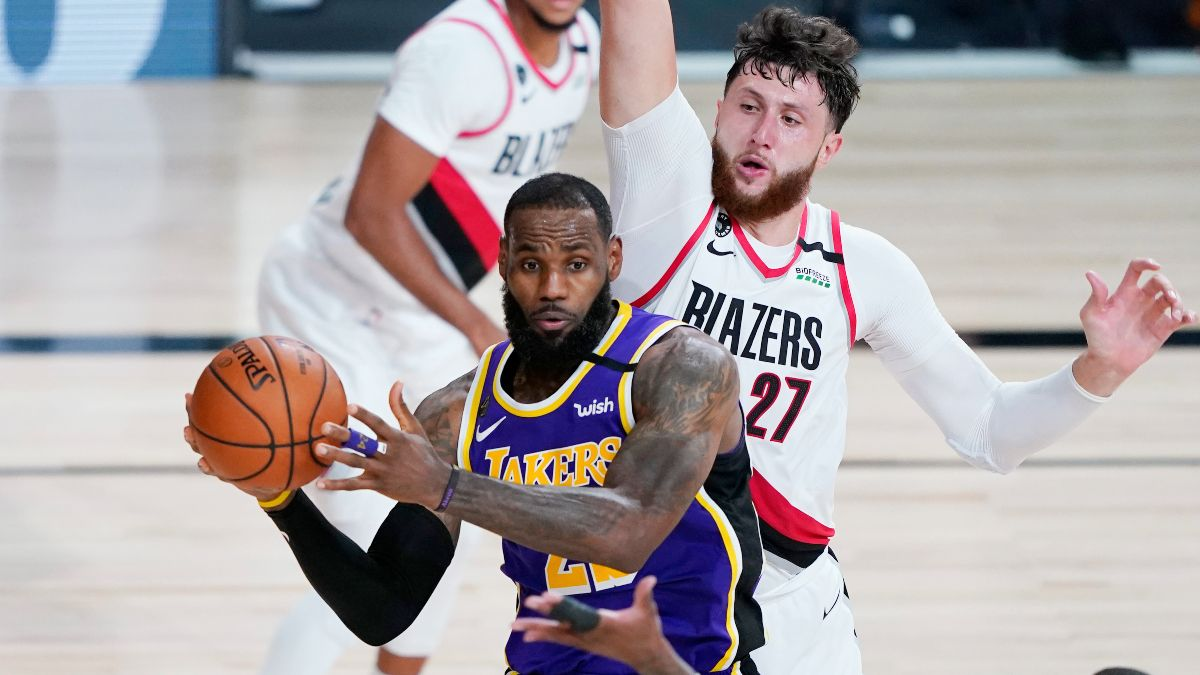 NBA Player Prop Bets & Picks: Betting on Rockets Rebounders and LeBron's Passing (Monday, Aug. 24) article feature image