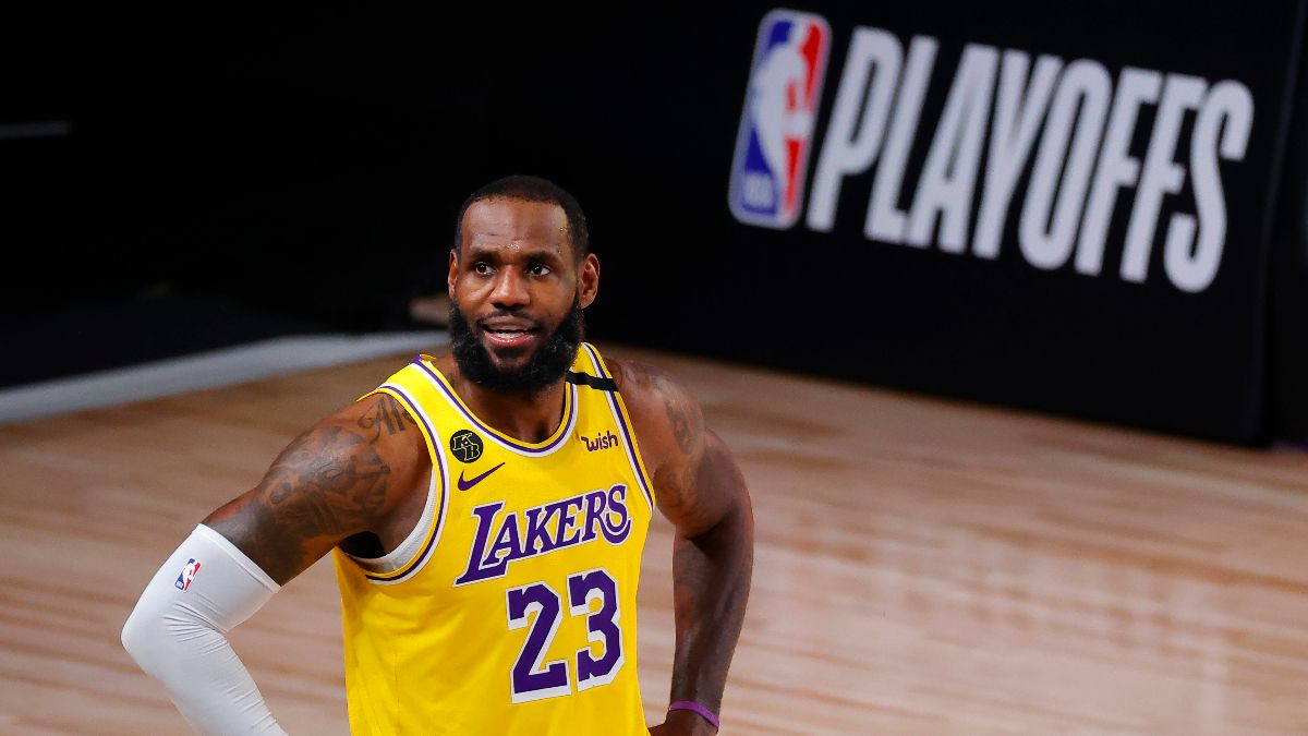 NBA Player Prop Bets & Picks: Fade LeBron James in Game 1 (Friday, Sept. 4) article feature image