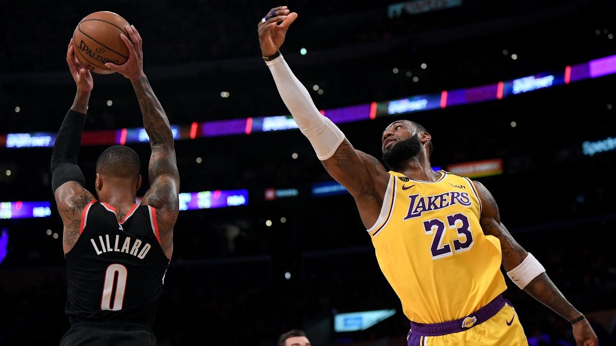 NBA Playoffs Series Odds: Lakers vs. Trail Blazers Round 1 Schedule article feature image