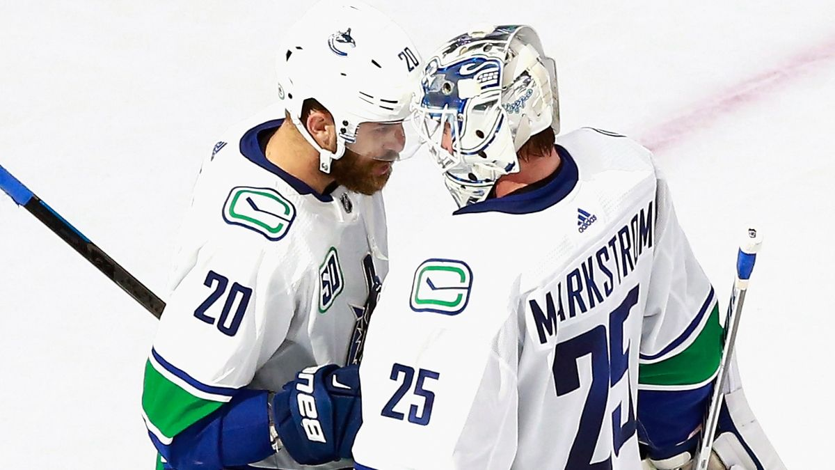 NHL Betting Picks: Best Bets for Canadiens vs. Flyers, Canucks vs. Blues (August 21) article feature image