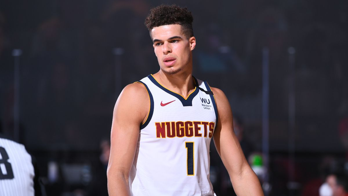 Moore's Sunday Angles: Michael Porter Jr. Will Get Buckets vs. Jazz (Aug. 30) article feature image