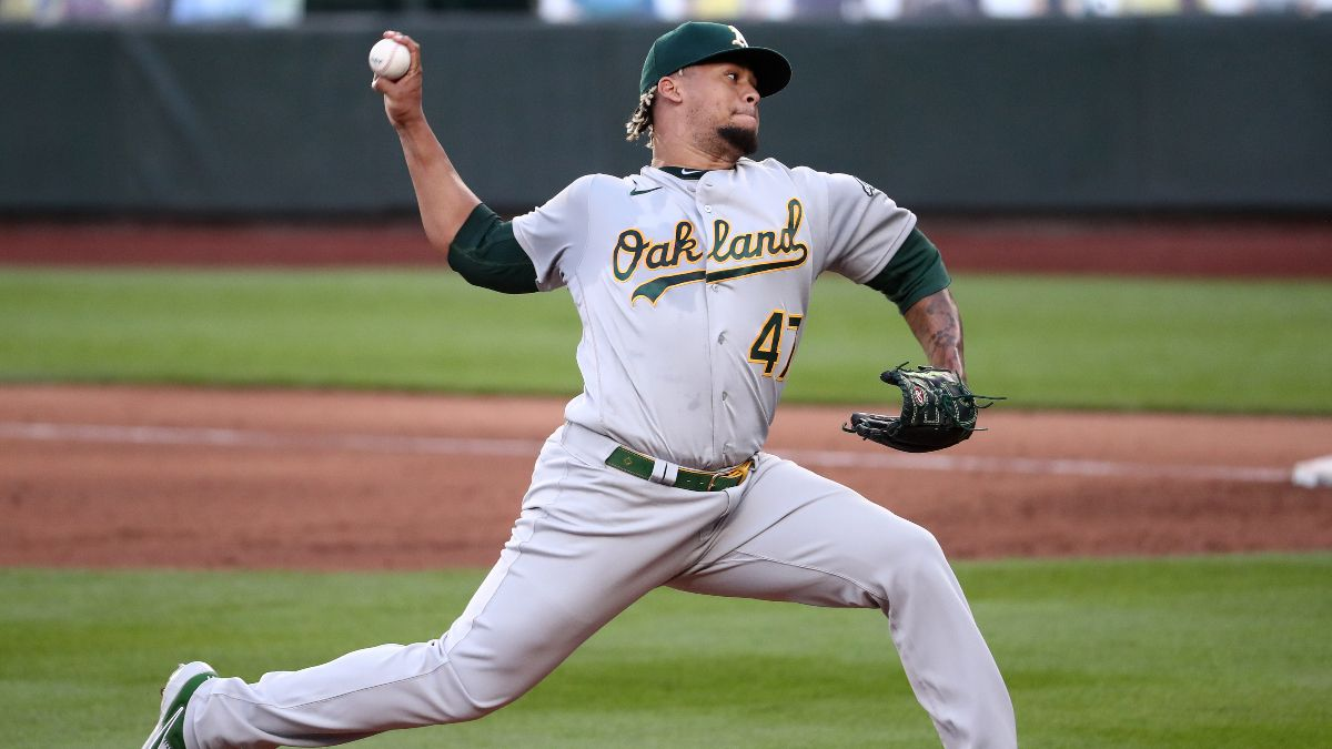 Athletics vs. Giants Odds & Pick: How To Bet This Friday Night Pitcher's Duel article feature image
