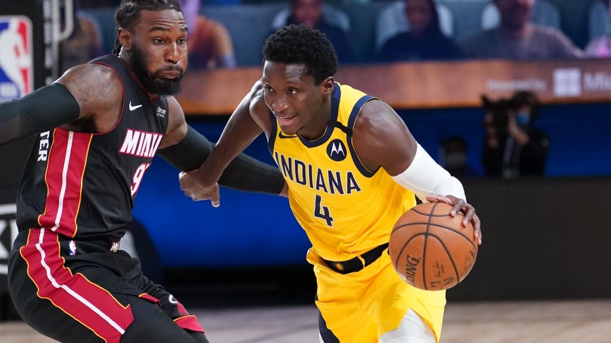 NBA Sharp Betting Pick: Heat vs. Pacers Game 2 (Thursday, August 20) article feature image