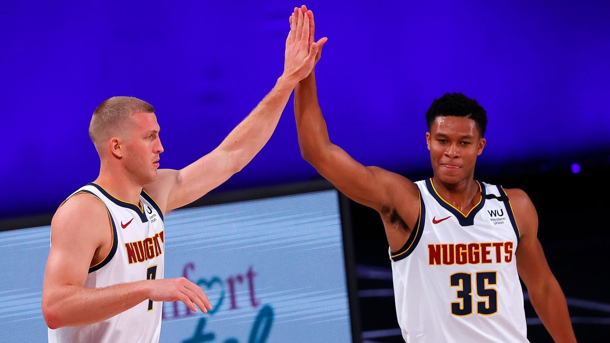 Jazz vs. Nuggets Odds, Betting Picks: Sharps Steaming Spread & Over/Under article feature image