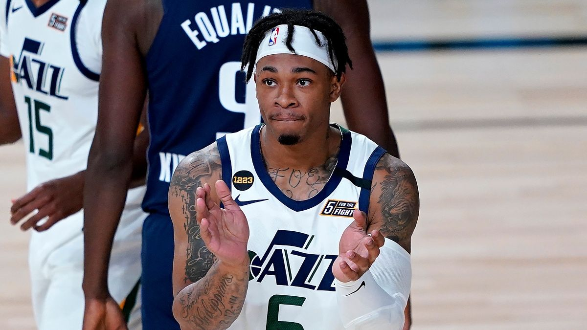 NBA Odds, Betting Picks & Predictions: Spurs vs. Jazz (Thursday, Aug. 13) article feature image