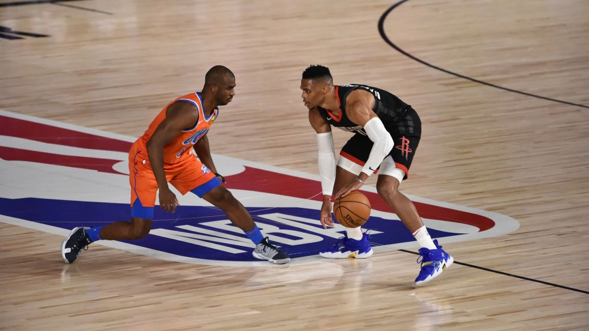 NBA Playoffs Betting Odds, Picks & Predictions: Rockets vs. Thunder Game 6 (Monday, Aug. 31) article feature image