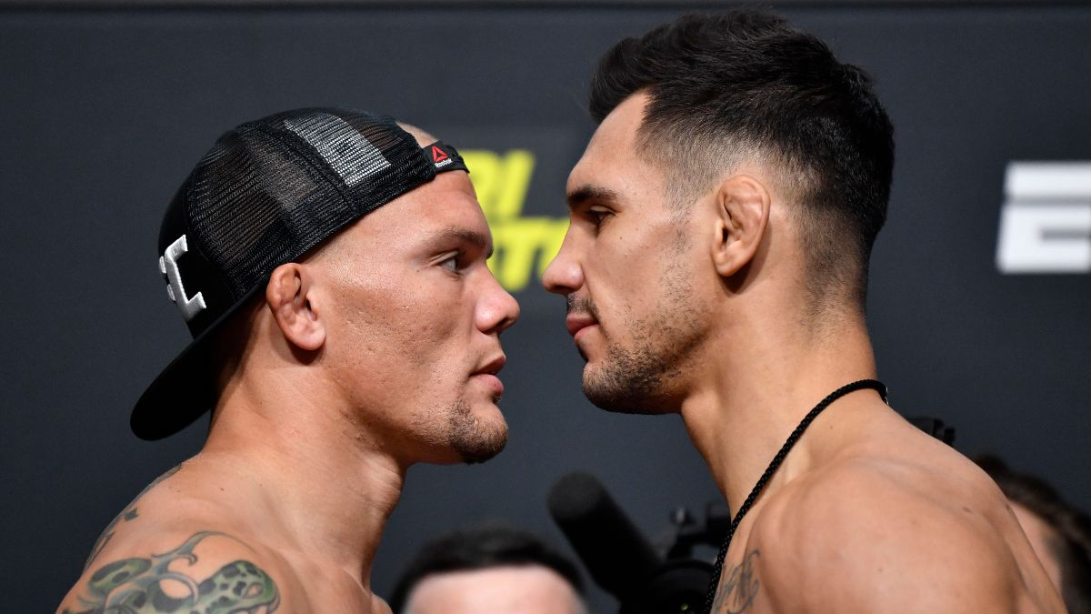 UFC Fight Night Main Event Odds, Pick and Prediction: Anthony Smith vs. Aleksandar Rakic (Saturday, Aug. 29) article feature image