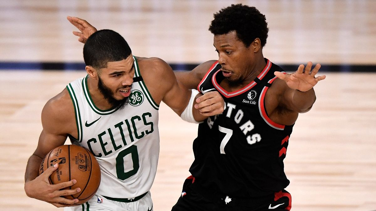 Monday NBA Playoffs Betting Odds, Picks & Predictions: Celtics vs. Raptors Game 5 (Sept. 7) article feature image
