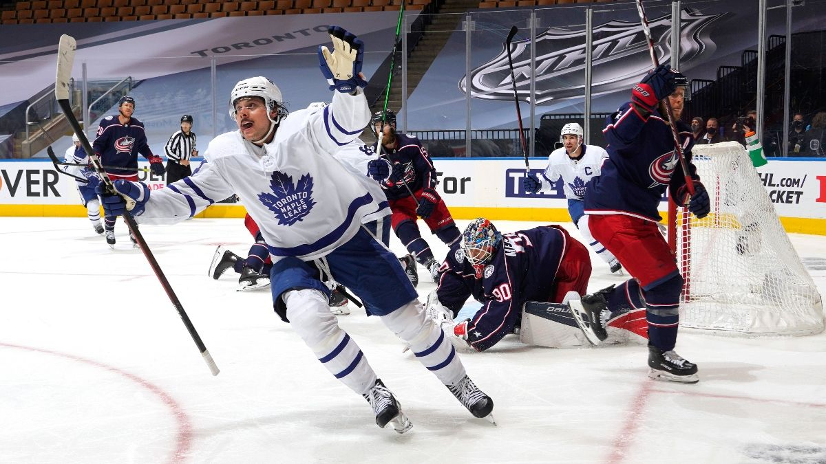 NHL Betting Odds, Picks and Predictions: Columbus Blue Jackets vs. Toronto Maple Leafs (Sunday, August 9) article feature image