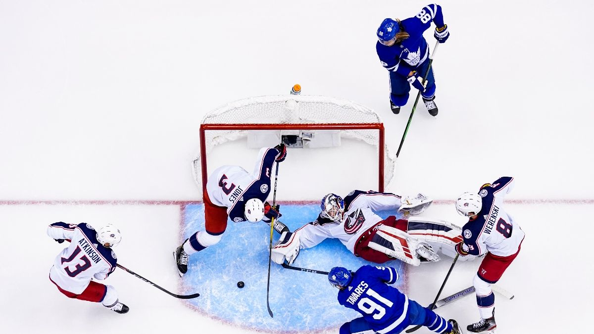 Blue Jackets vs. Maple Leafs Odds & Pick: Toronto Overvalued For Game 3 article feature image
