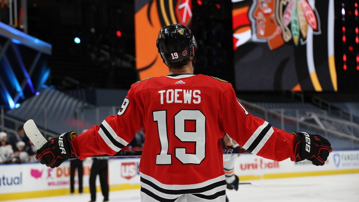 Oilers vs. Blackhawks Odds: How We're Looking To Bet Game 4 article feature image