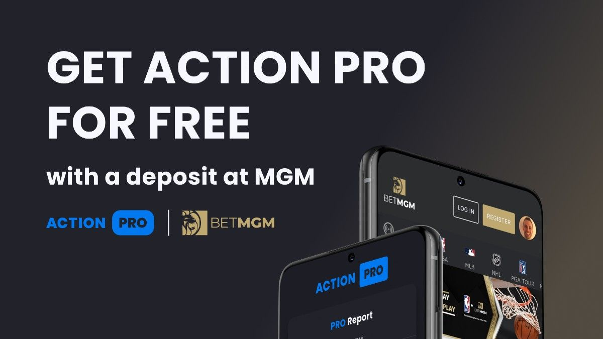 Sign Up at BetMGM, Get a Free Year of Action PRO article feature image