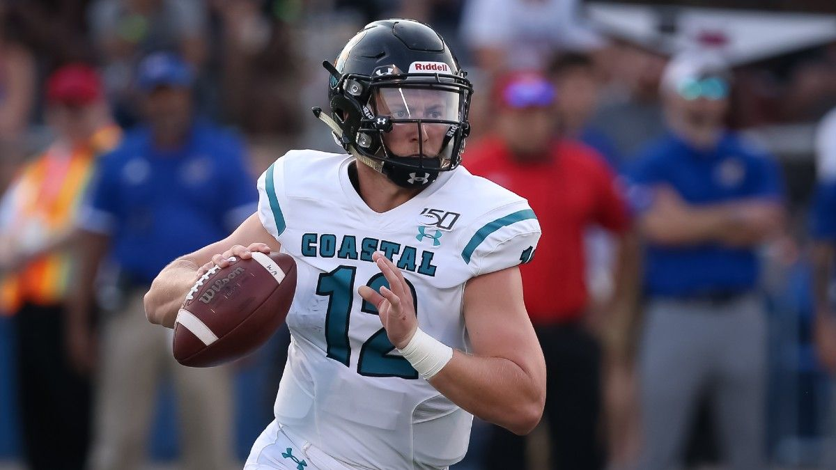 College Football PRO Report: Sharp Action, Power Ratings Edges, Expert Betting Picks for Week 2 (Saturday, Sept. 12) article feature image