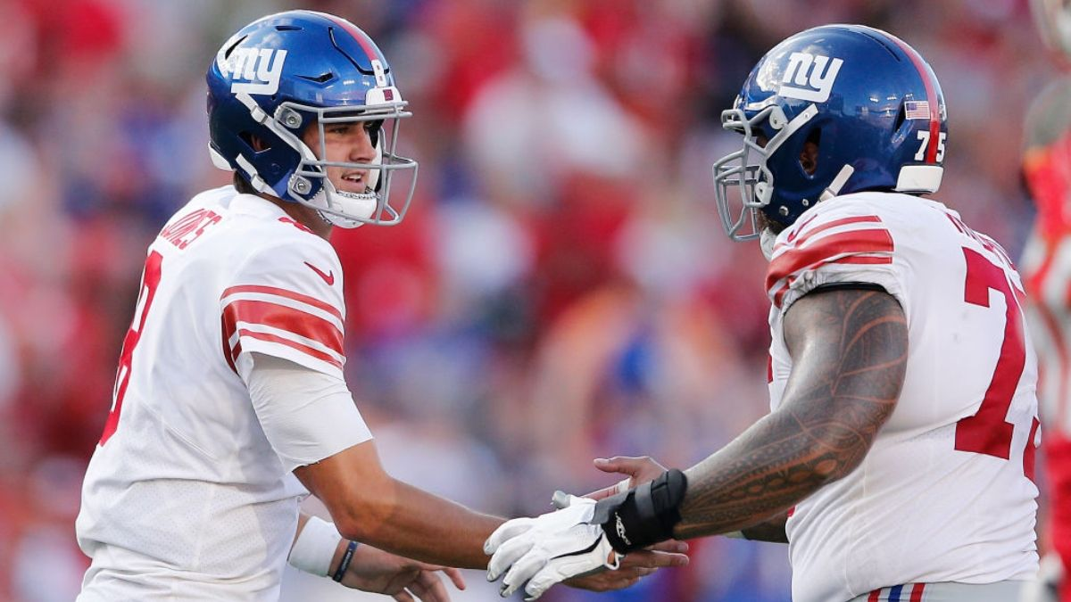 DraftKings Sportsbook NFL Week 2 Promo: Bet $25, Win $150 if the Giants Score a Touchdown article feature image
