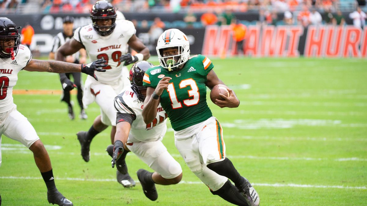 Saturday College Football Betting Picks: Our Favorite Bets for Syracuse vs. Pittsburgh & Louisville vs. Miami (Sept. 19) article feature image