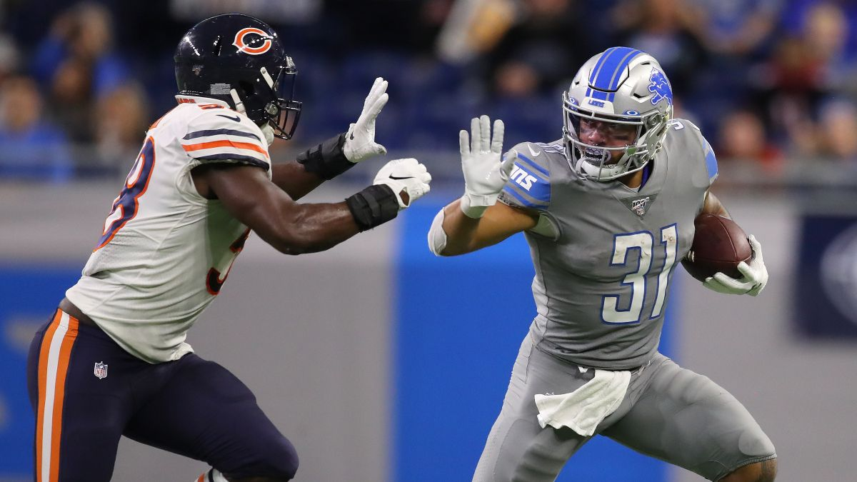 Bears vs. Lions Odds & Pick: Bet on a Slow Start for These NFC North Rivals (Sunday, Sept. 13) article feature image