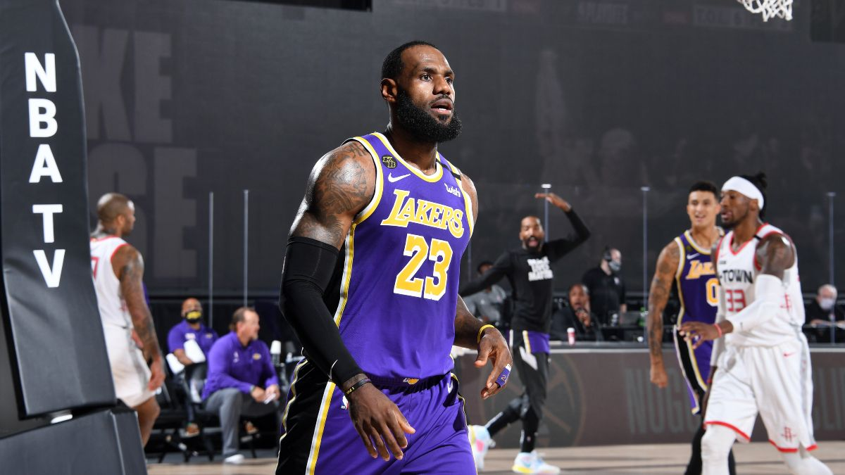 Lakers vs. Rockets Game 3 Betting Odds, Picks & Predictions (Tuesday, Sept. 8) article feature image