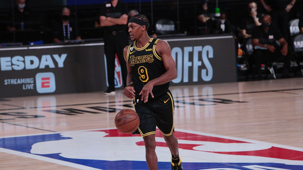 Tuesday NBA Player Prop Bets & Picks: Continue to Bet on Throwback Rondo? (Sept. 8) article feature image