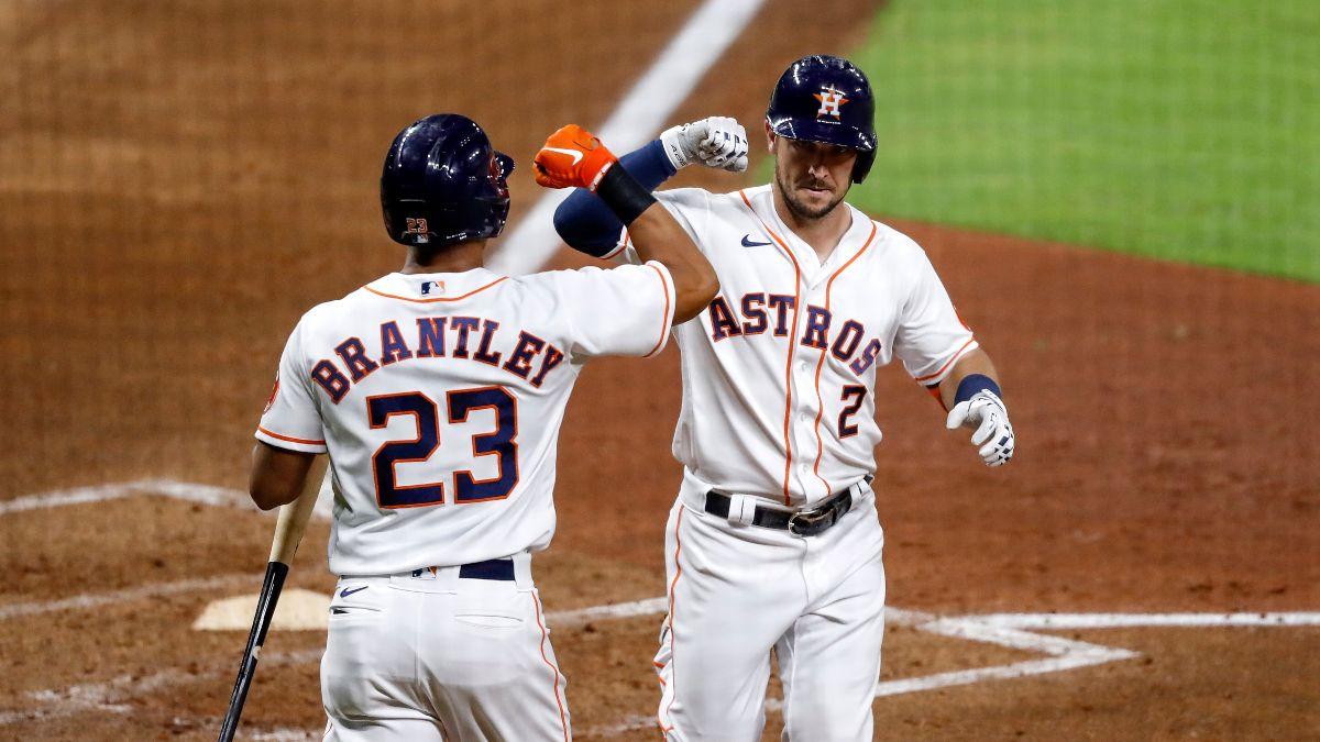 Thursday MLB Odds, Picks & Predictions for Houston Astros vs. Oakland Athletics (Sept. 10) article feature image