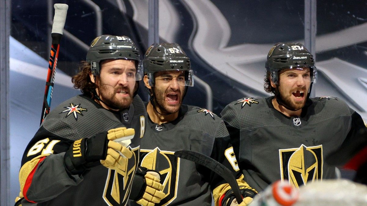 Tuesday NHL Odds & Picks: Team Totals and Player Prop Bets for Stars vs. Golden Knights (Sept. 8) article feature image